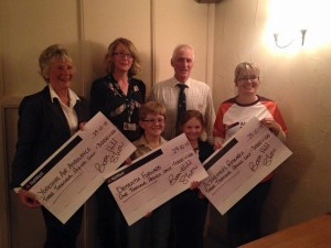 Presenting cheques 2015